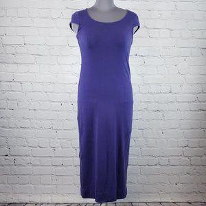 🧨 NY & Co Large Purple Maxi Bodycon